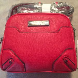 Reaction by Kenneth Cole Mini Red Carly Crossbody